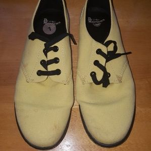Yellow Dr. Marrteen Shoes